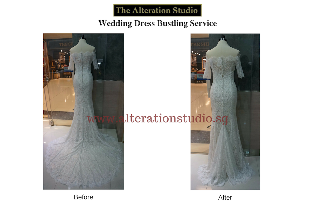 Wedding Dress Alteration Sg Alteration Services Singapore